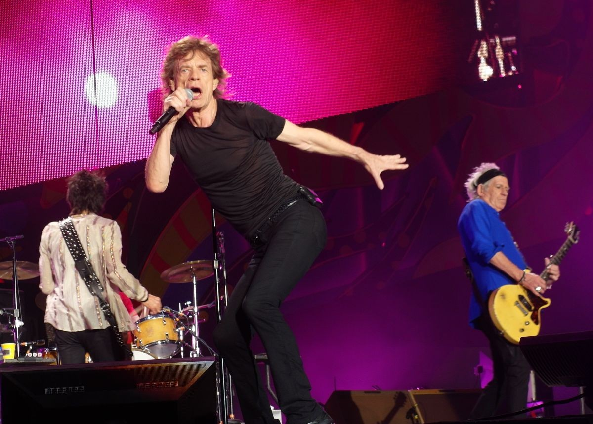 The Rolling Stones live in Santiago de Chile