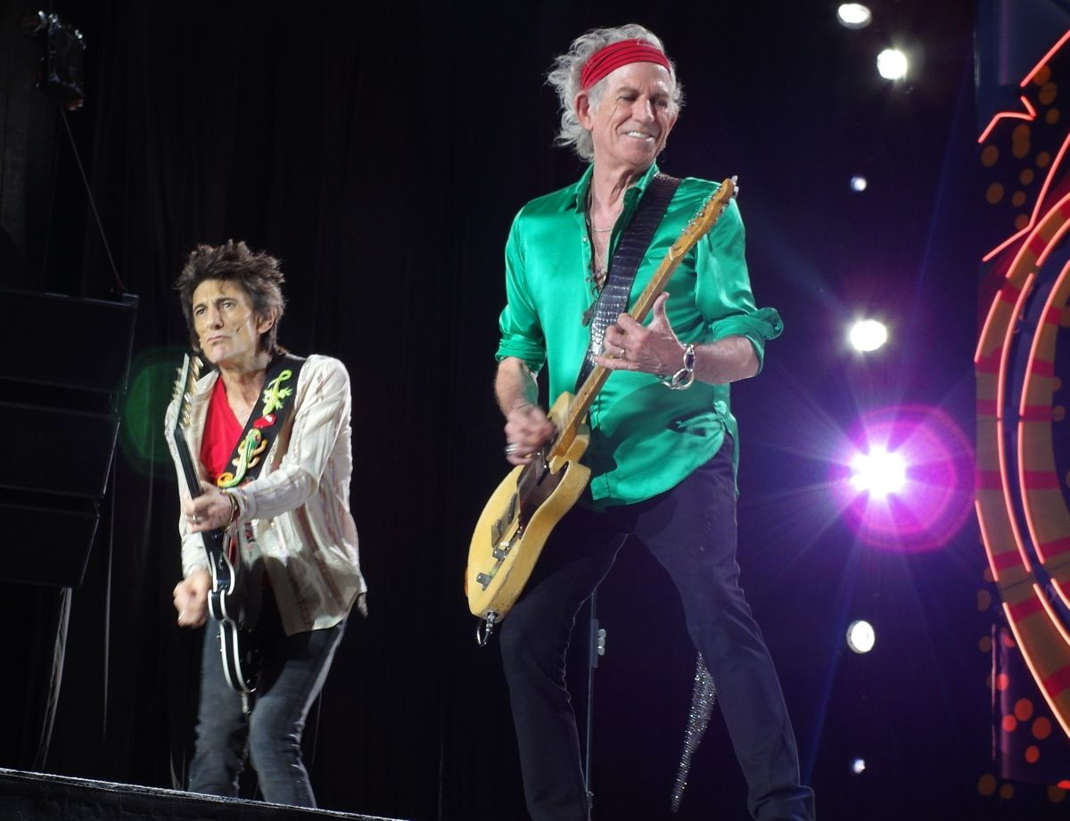 The Rolling Stones live in Montevideo Uruguay Feb 16, 2016