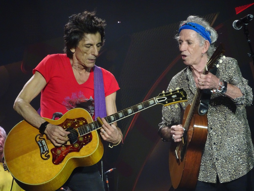 The Rolling Stones live in São Paulo Brazil Feb 24, 2016