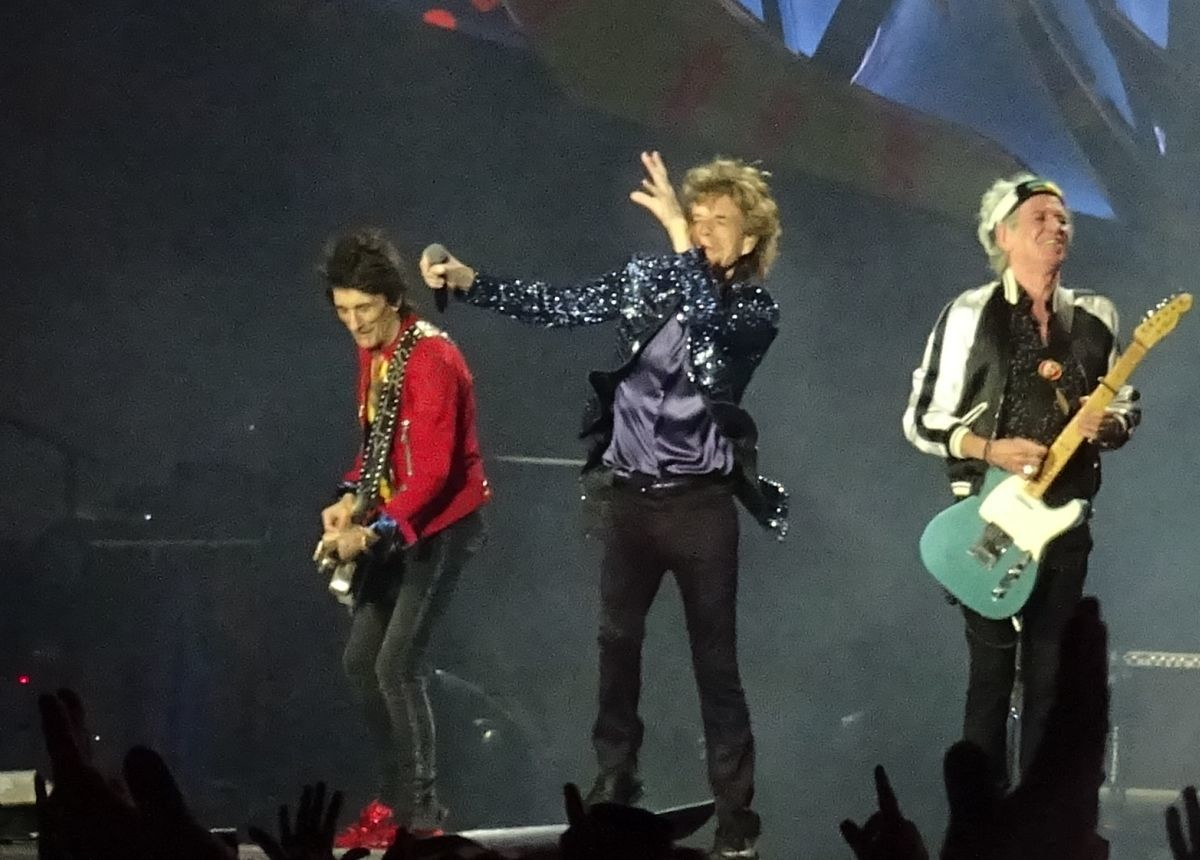 The Rolling Stones live in Porto Alegre Brazil March 2, 2016